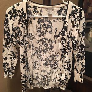 3/4 sleeve light weight sweater